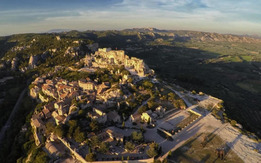 Les Baux-de-Provence- Carrières de Lumière(The Quarries)1