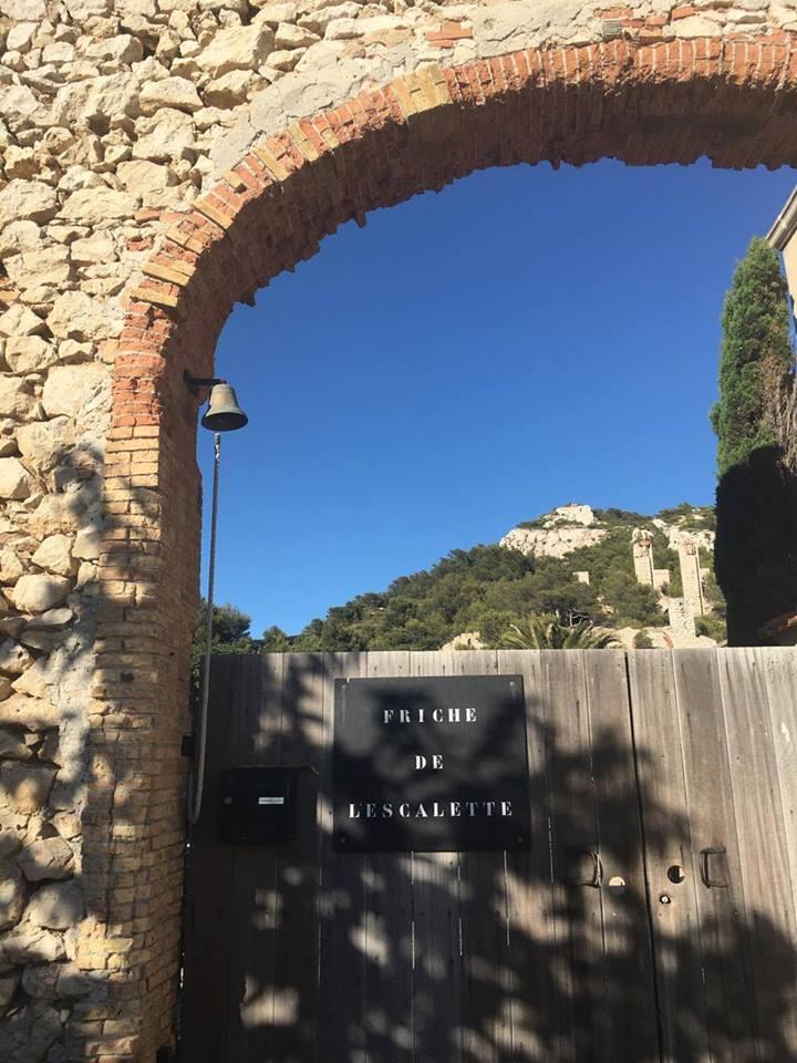 Friche de l'Escalette- Parc de sculpture et d'architecture légère2