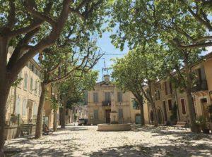 Rognes village- Château Barbebelle-1