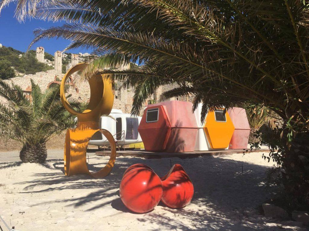 Friche de l'Escalette- Parc de sculpture et d'architecture légère4