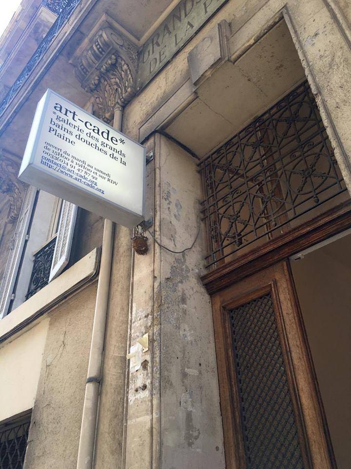 Art-Cade Gallery, Marseille-Former bath house6