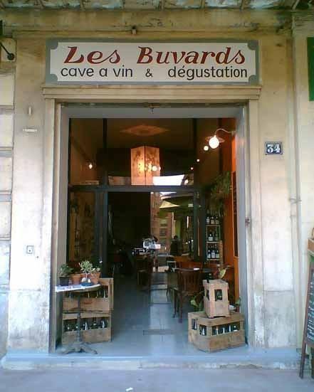 Cellar and wine bar Les Buvards, Marseille.1