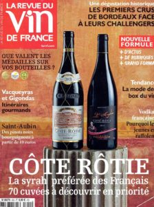 april 2016 Cote Rotie cover