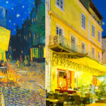 In Vincent Van Gogh footsteps around Arles in Provence.